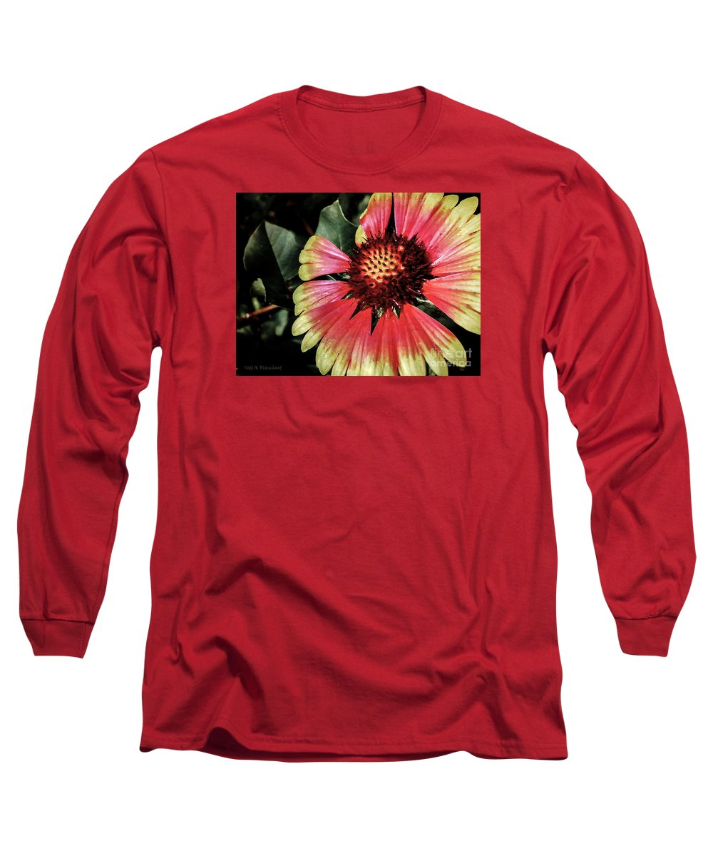 Flora Long Sleeve T-Shirt featuring the photograph Soaking Up The Sun by Todd A Blanchard