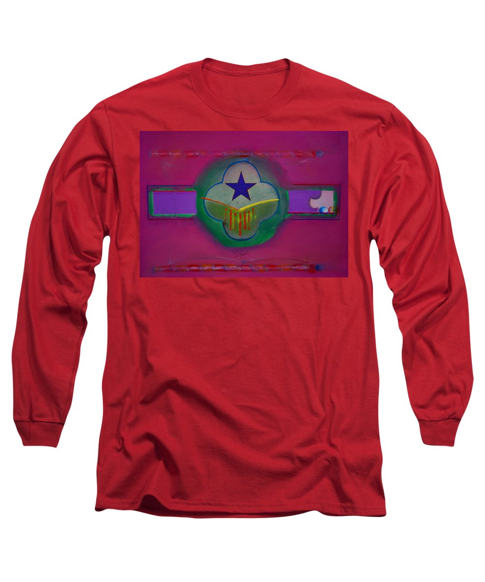 Star Long Sleeve T-Shirt featuring the painting Star Of Venice by Charles Stuart