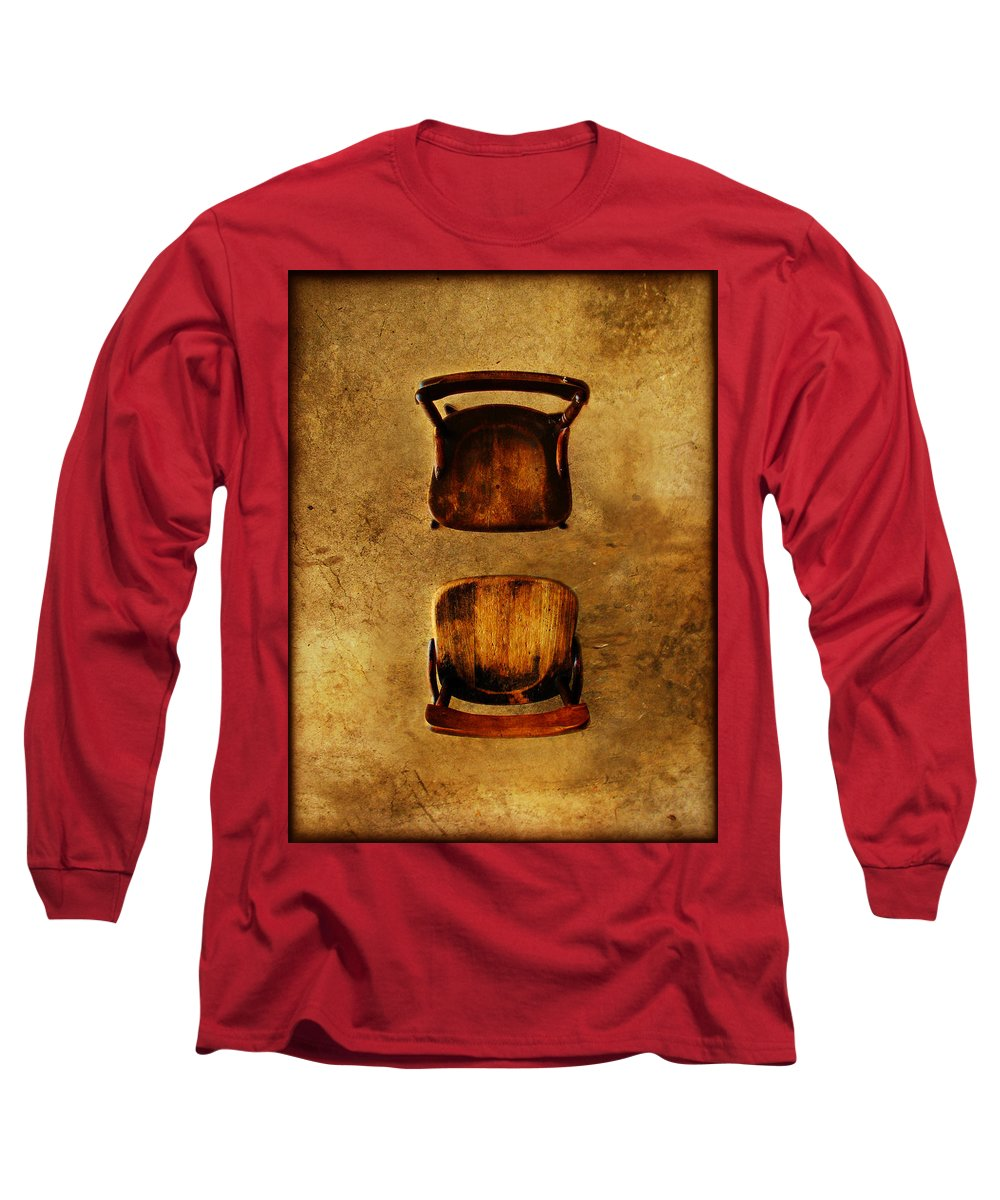 Dipasquale Long Sleeve T-Shirt featuring the photograph The Space Between You And Me by Dana DiPasquale