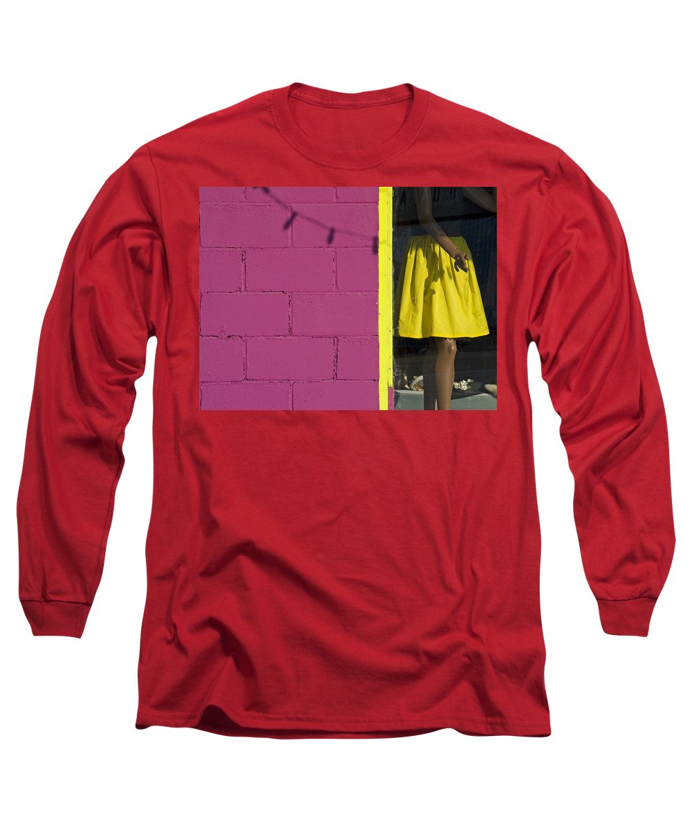 Woman Long Sleeve T-Shirt featuring the photograph Waiting by Skip Hunt