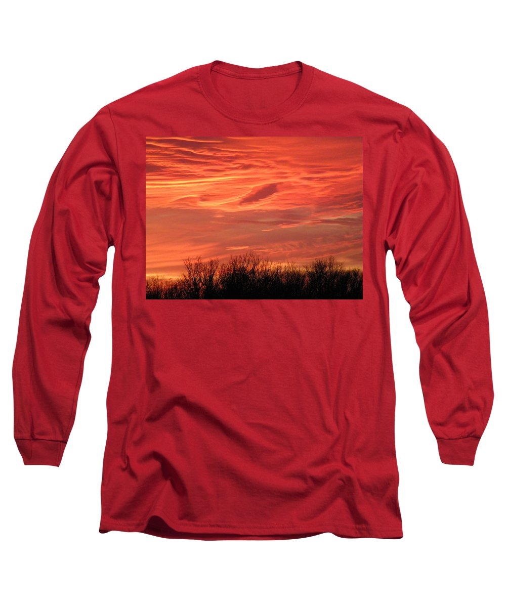 Sunset Long Sleeve T-Shirt featuring the photograph Who Needs Jupiter by Gale Cochran-Smith