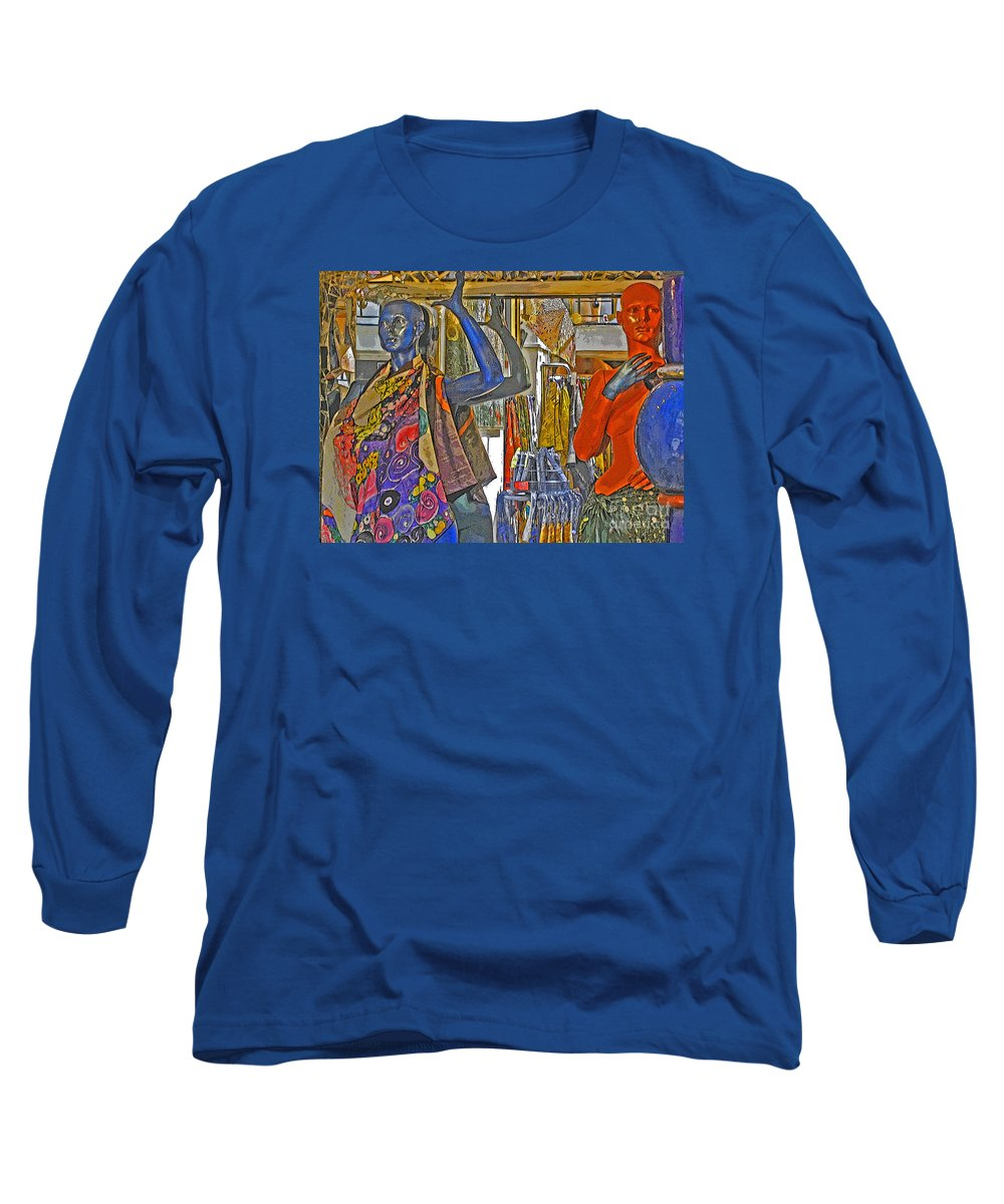 Fashion Long Sleeve T-Shirt featuring the photograph Funky Boutique by Ann Horn