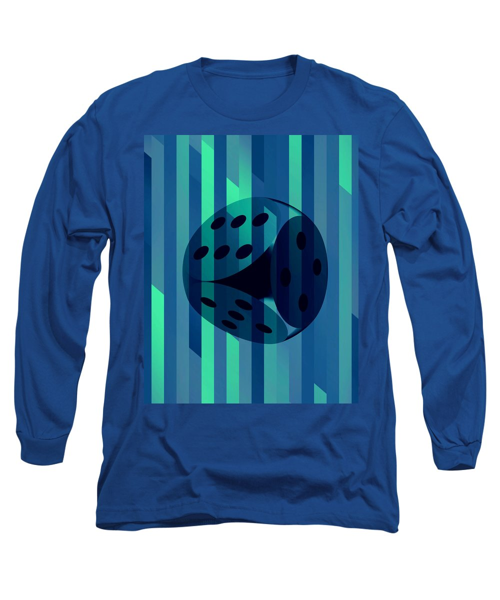 Retro dice long sleeve t shirt for sale by michelle dallocchio for Retro long sleeve t shirts