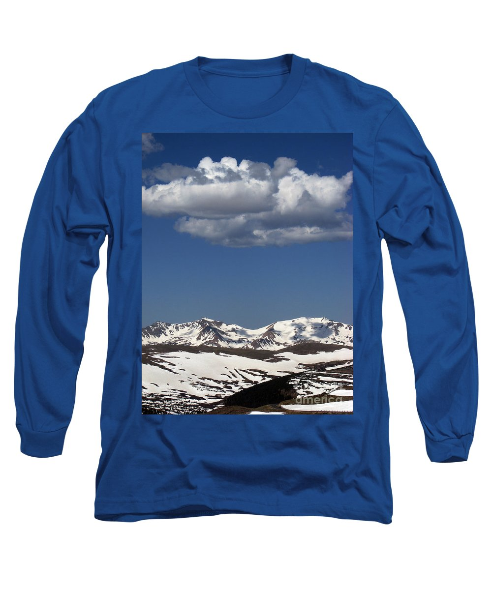 Colorado Long Sleeve T-Shirt featuring the photograph Above It All by Amanda Barcon