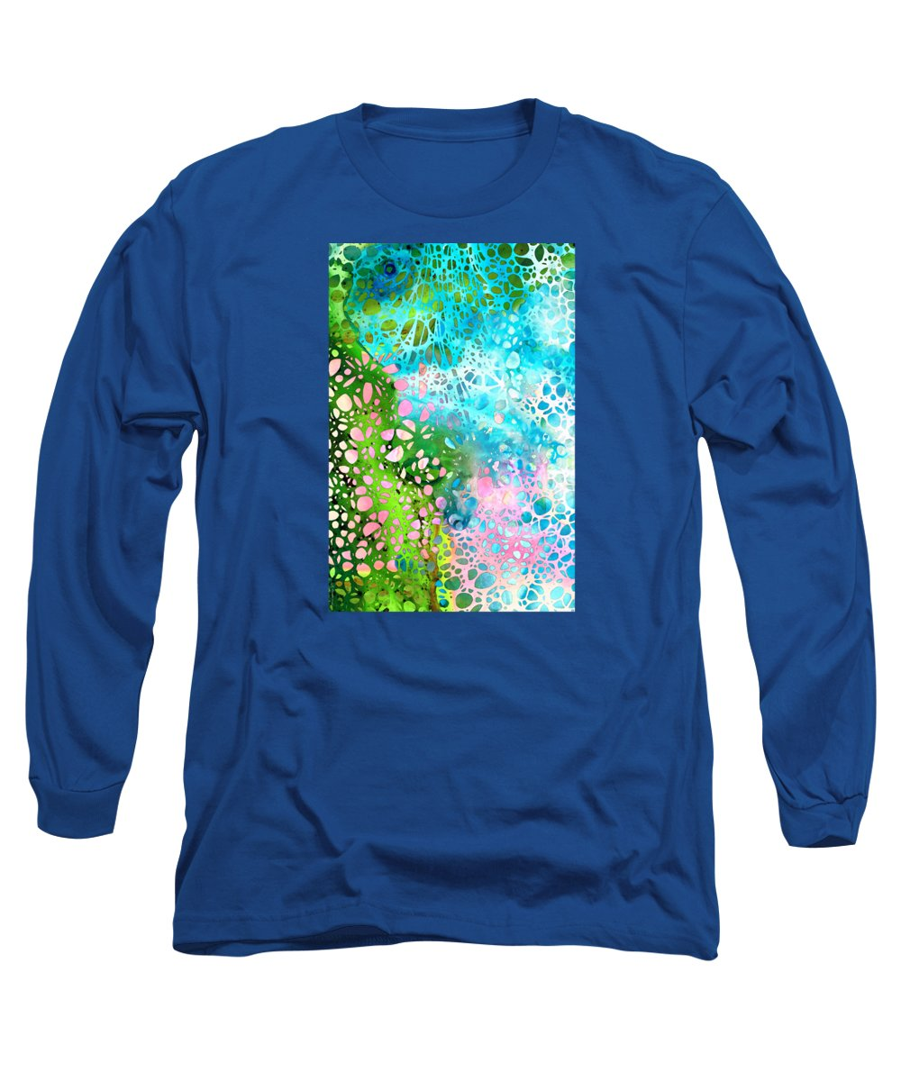 Abstract Landscape Paintings Long Sleeve T-Shirts