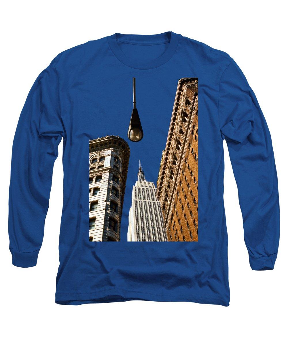 New York City Skyline Long Sleeve T-Shirts