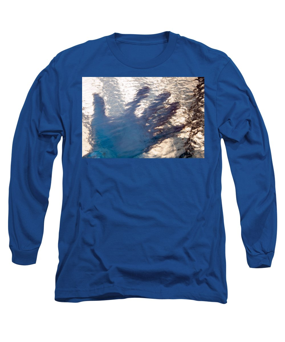 Clay Long Sleeve T-Shirt featuring the photograph Hand Out by Clayton Bruster
