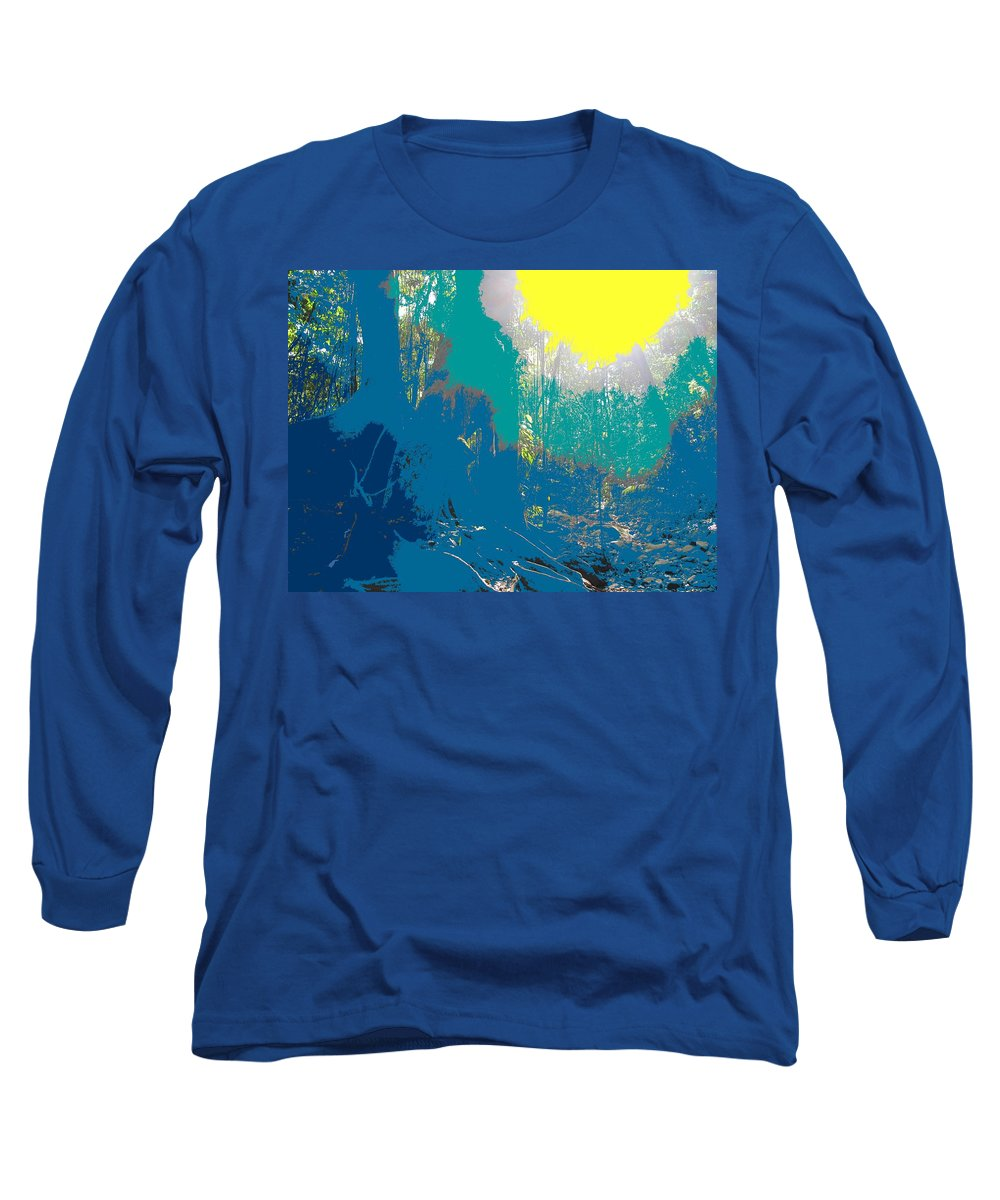 Rainforest Long Sleeve T-Shirt featuring the photograph In The Rainforest by Ian MacDonald