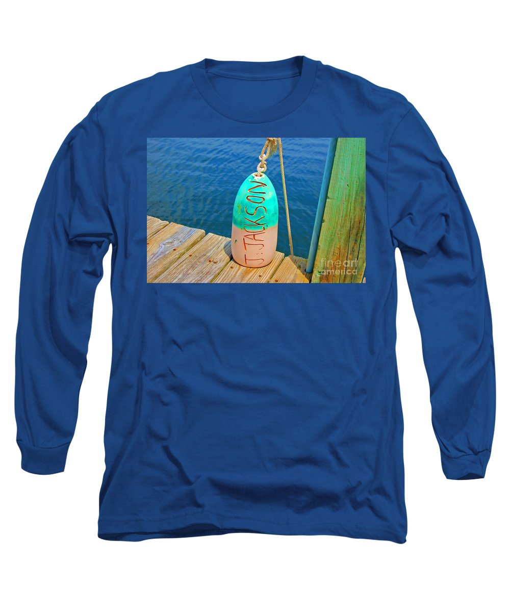 Water Long Sleeve T-Shirt featuring the photograph Its A Buoy by Debbi Granruth
