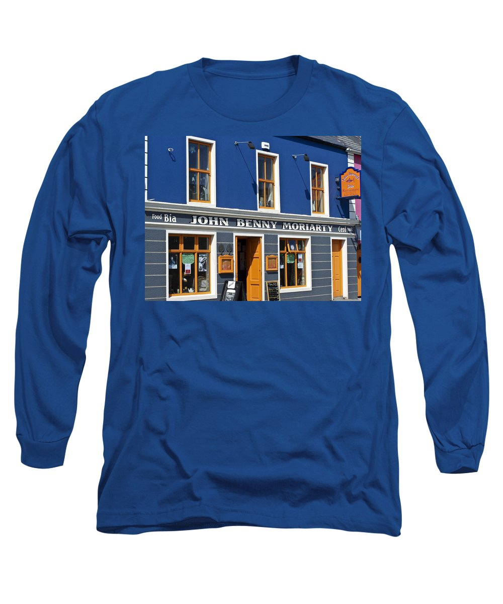 Irish Long Sleeve T-Shirt featuring the photograph John Benny by Teresa Mucha