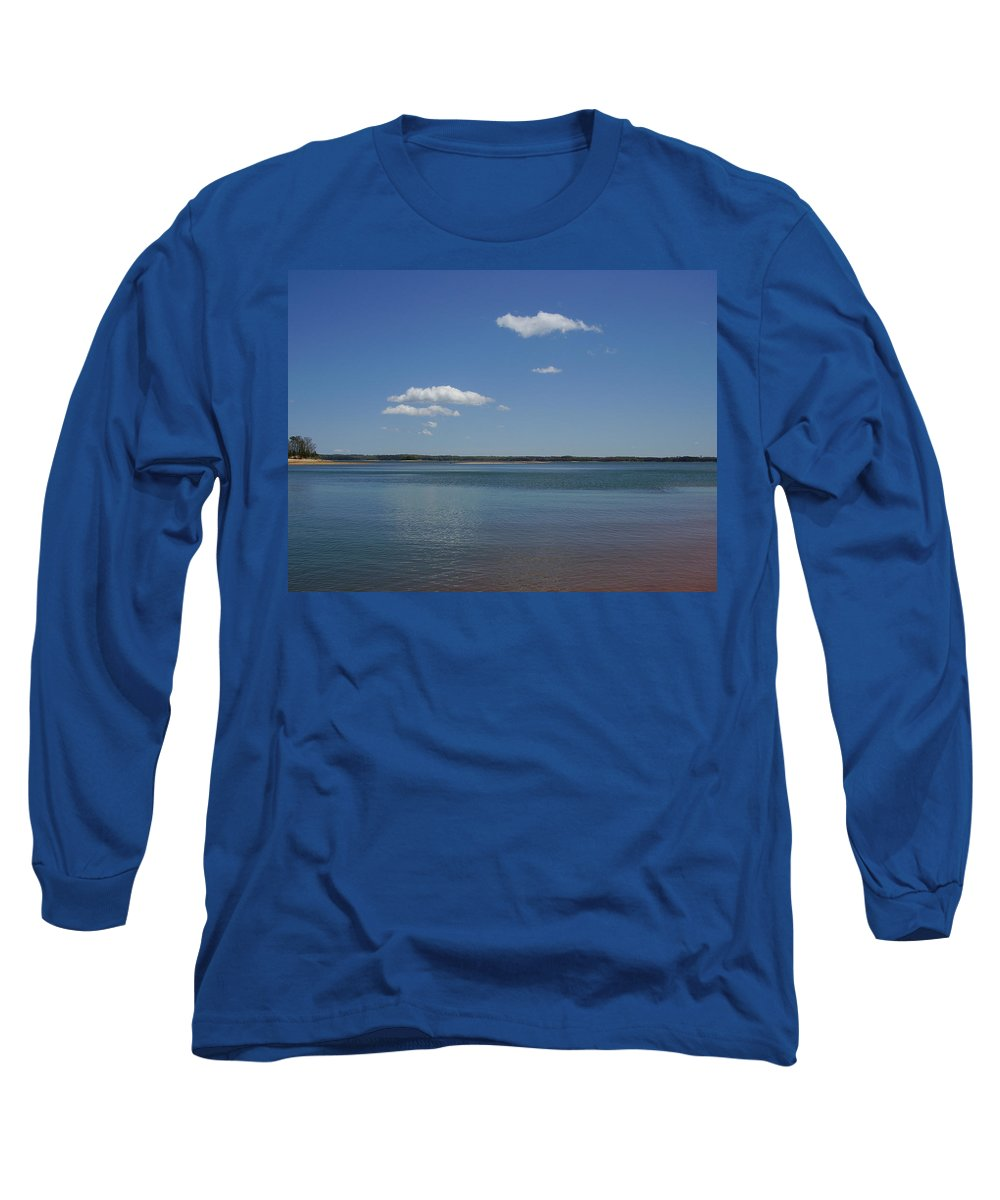 Lake Hartwell Long Sleeve T-Shirt featuring the photograph Lake Hartwell by Flavia Westerwelle