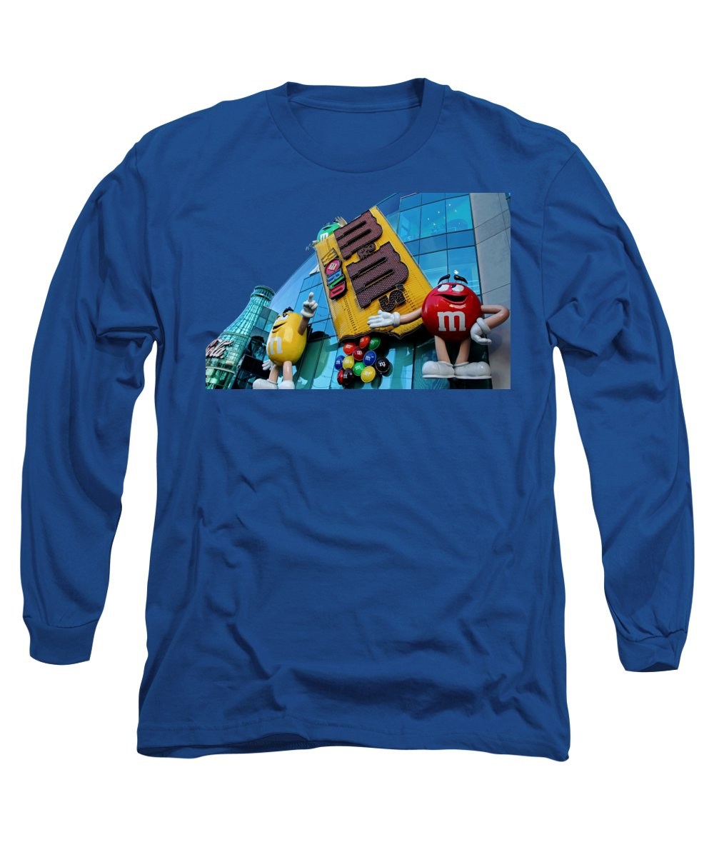 Candy Long Sleeve T-Shirt featuring the photograph Melt In Your Mouth by Debbie Oppermann