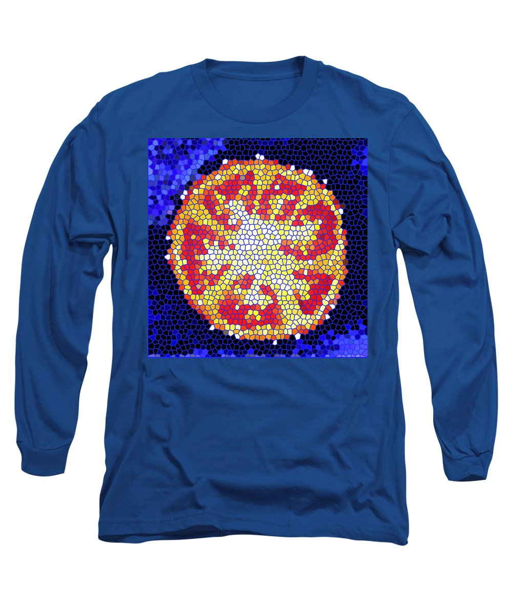 Tomato Long Sleeve T-Shirt featuring the photograph Mosaic Tomato by Nancy Mueller