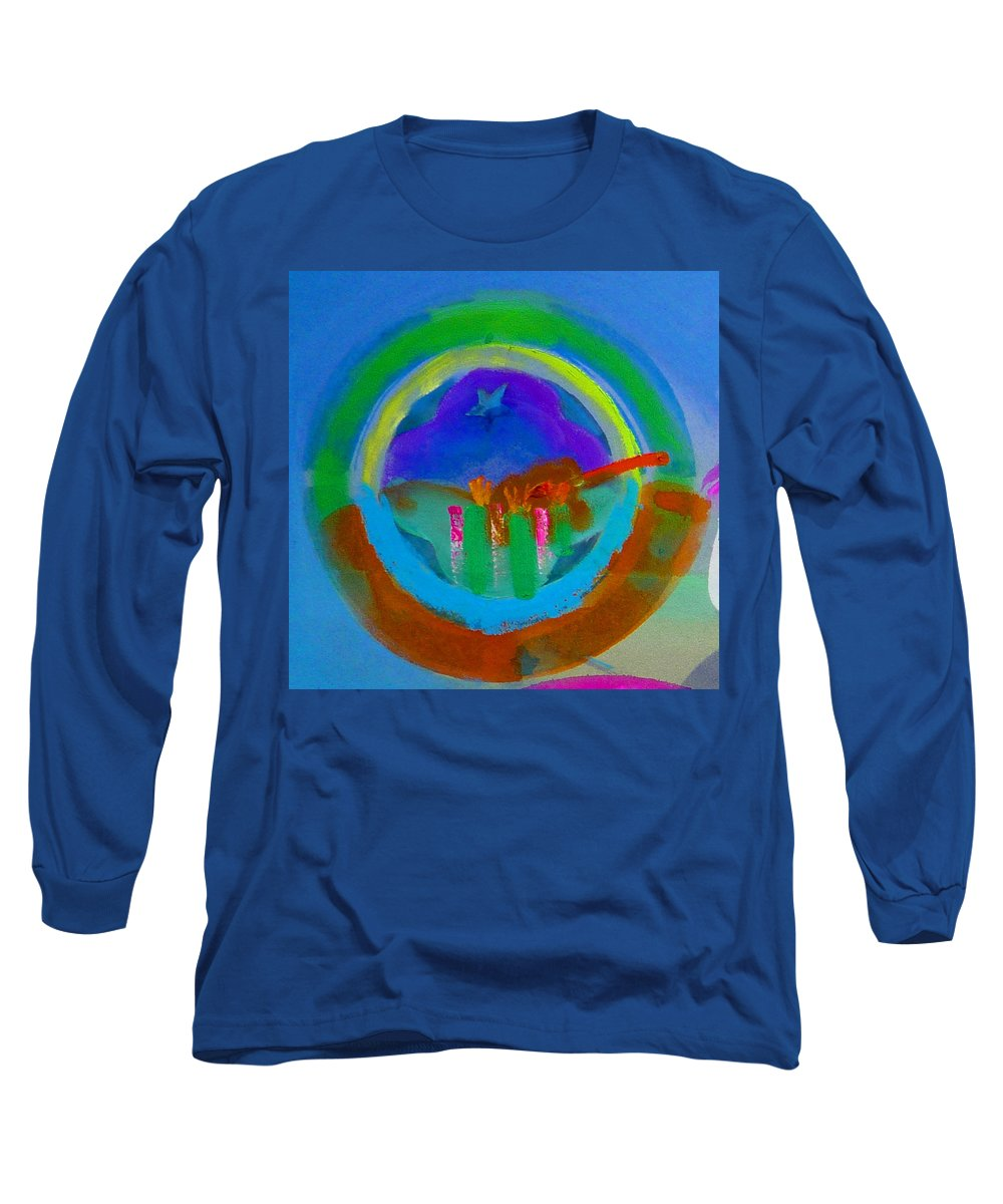 Love Long Sleeve T-Shirt featuring the painting New World Spring by Charles Stuart