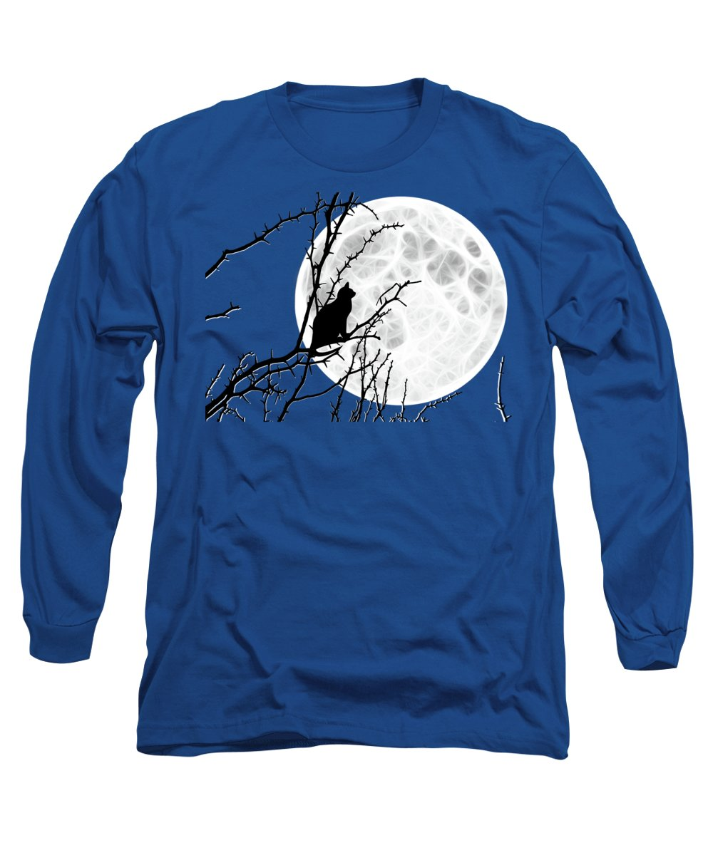 Full Moon Long Sleeve T-Shirts