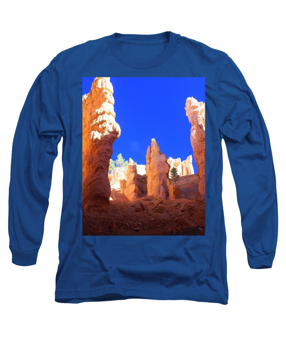 Bryce Canyon National Park Long Sleeve T-Shirt featuring the photograph Spires by Marty Koch