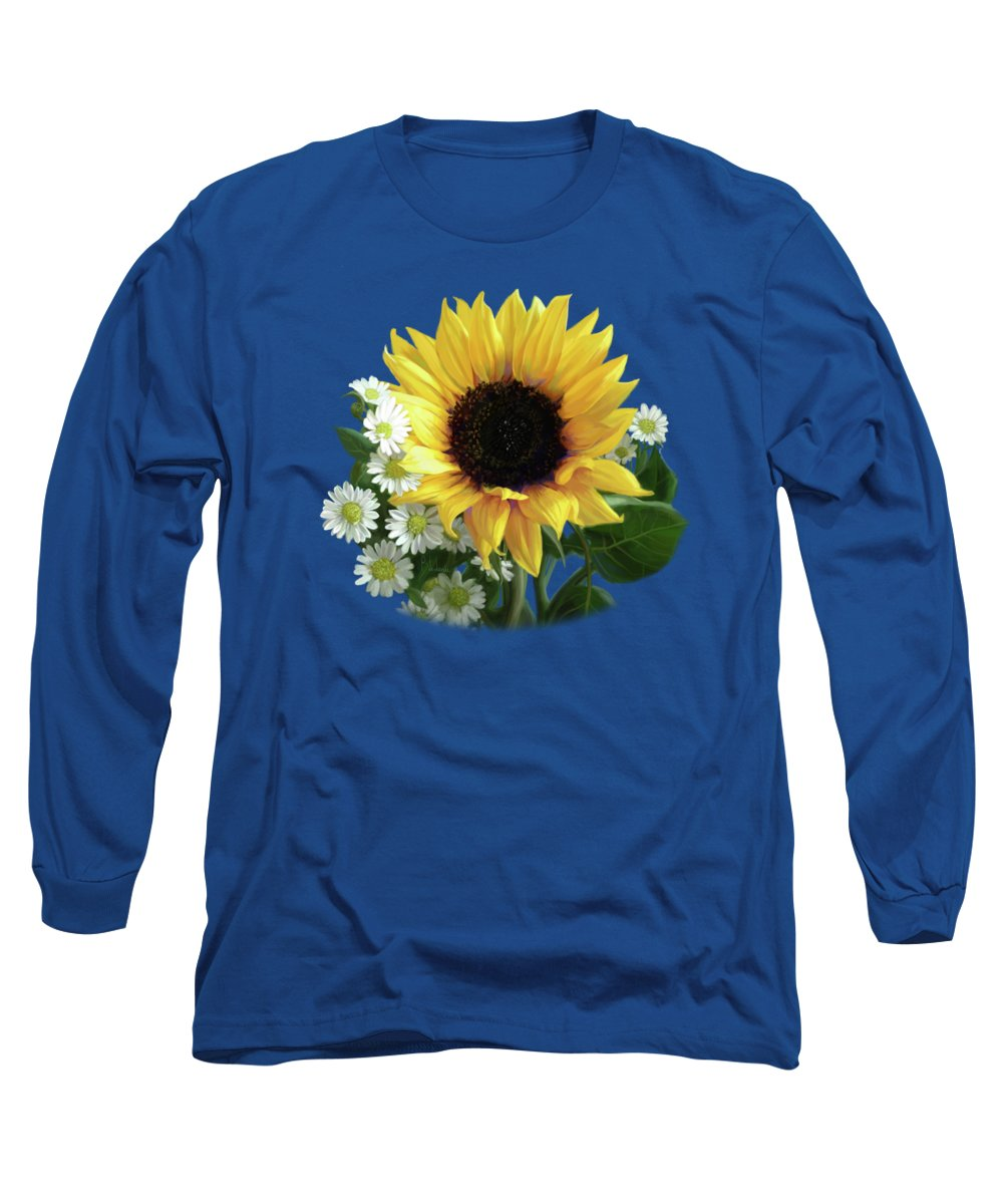 Daisy Long Sleeve T-Shirts
