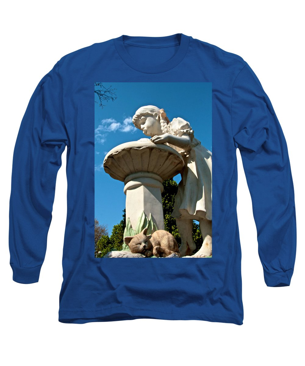 Water Long Sleeve T-Shirt featuring the photograph Thirst by Robert Pearson