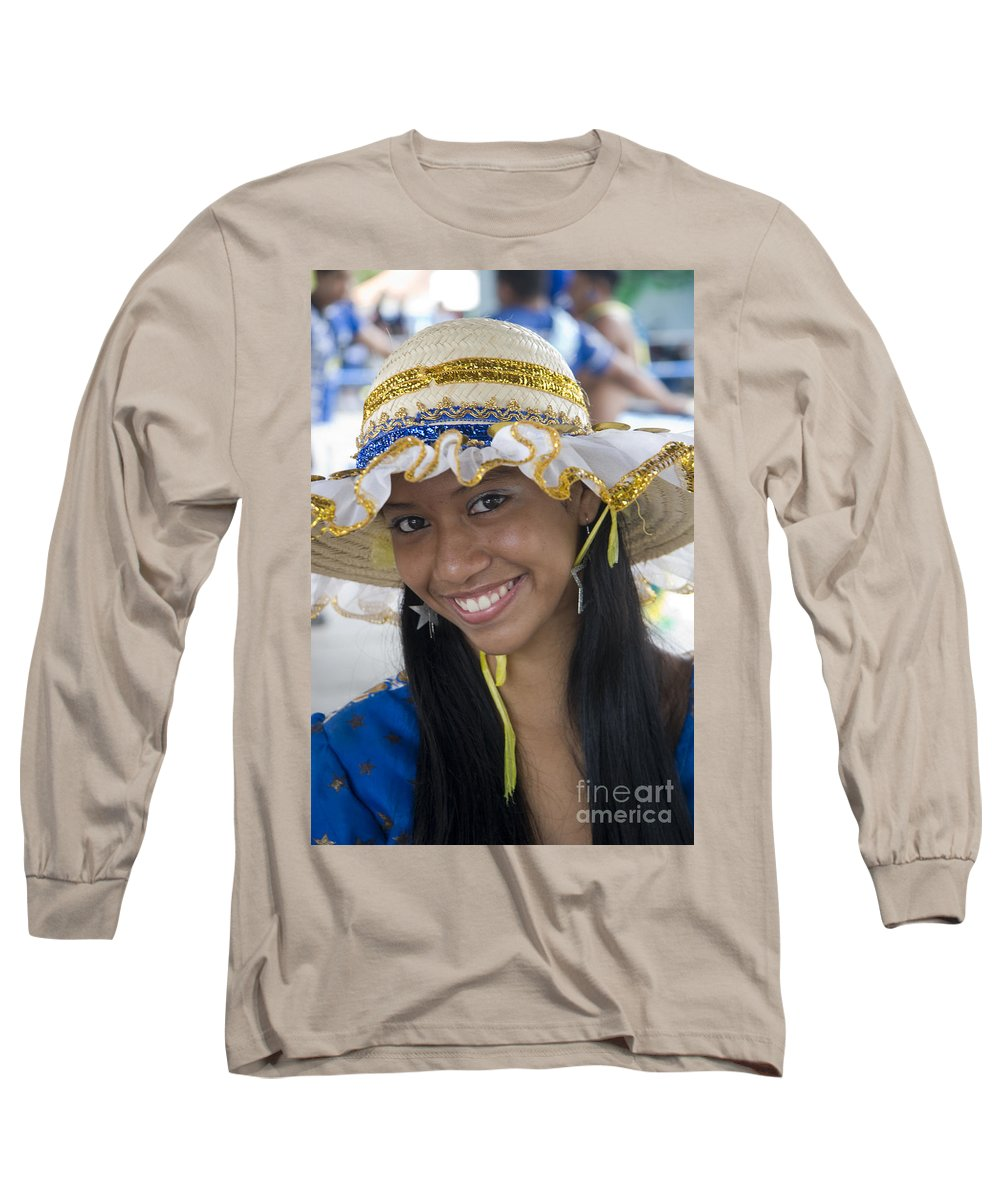 One Long Sleeve T-Shirt featuring the photograph Beautiful Women Of Brazil 11 by David Smith