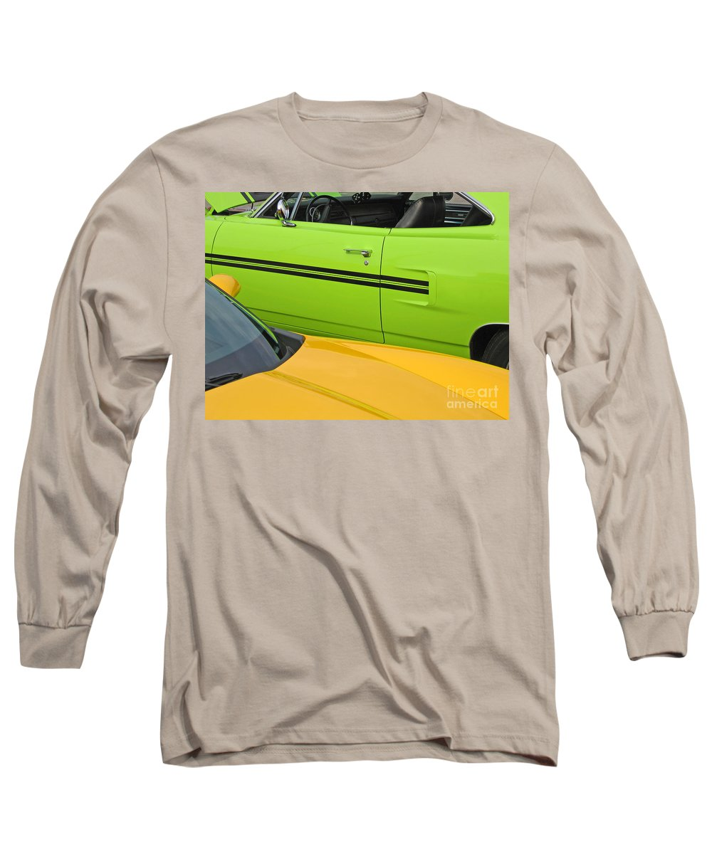 Car Long Sleeve T-Shirt featuring the photograph Classy Classics by Ann Horn