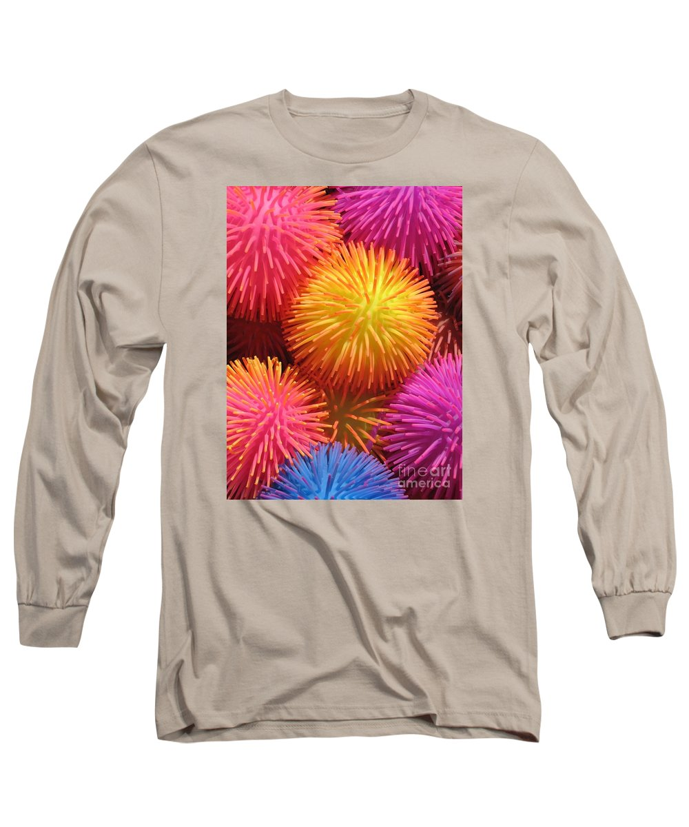 Abstract Long Sleeve T-Shirt featuring the photograph Dazzlers by Ann Horn