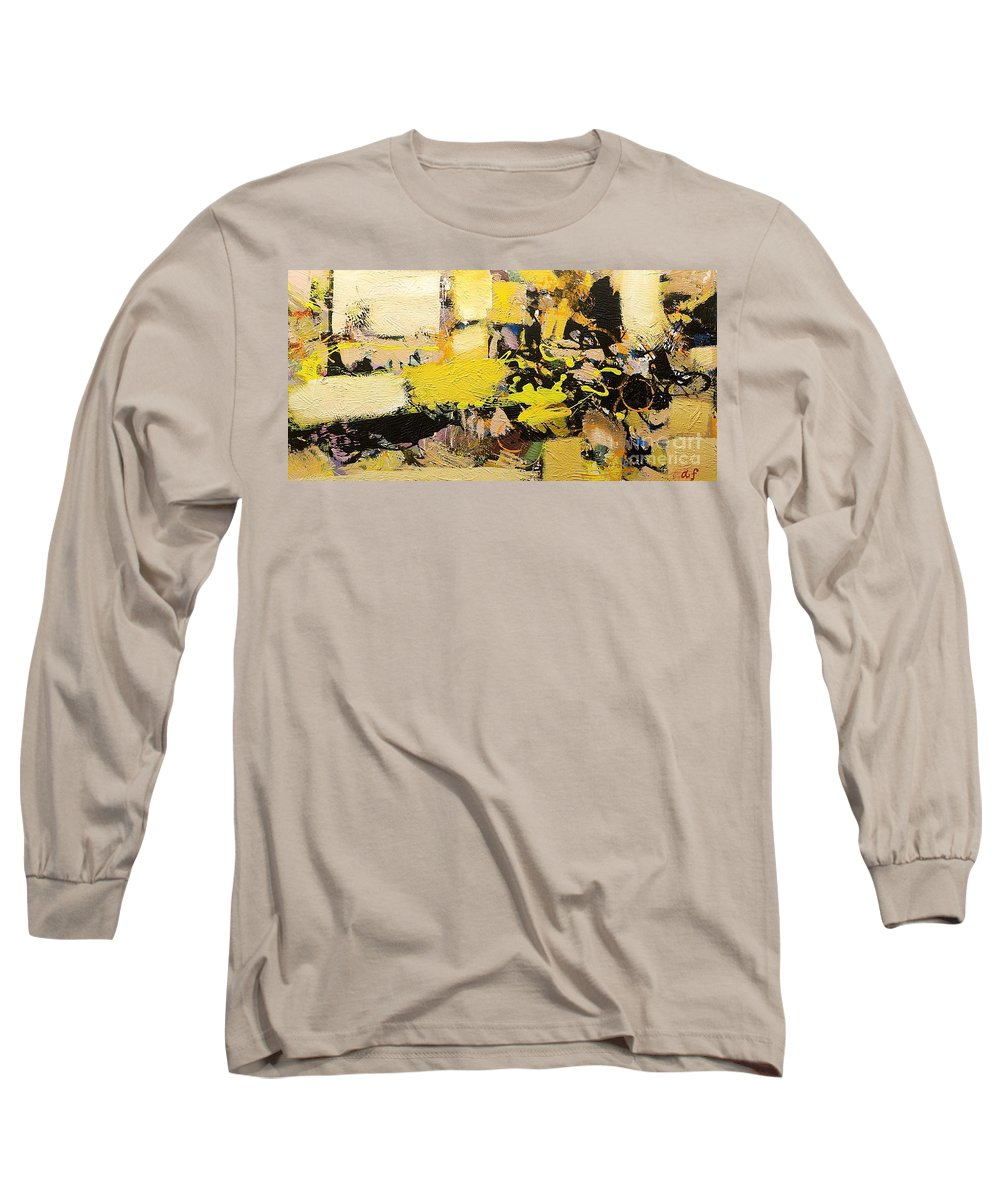Landscape Long Sleeve T-Shirt featuring the painting Euclid by Allan P Friedlander