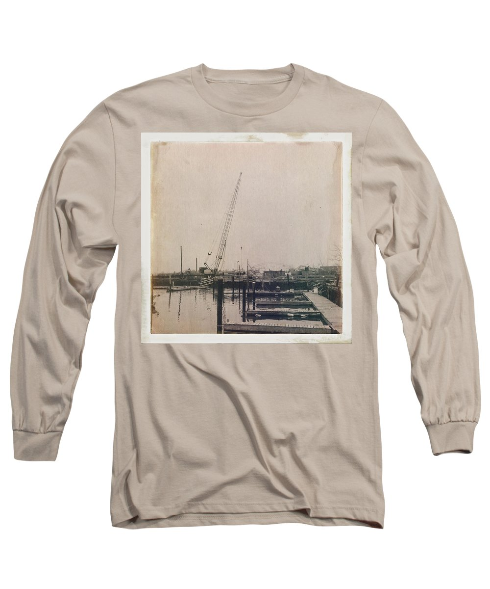 Antique Long Sleeve T-Shirt featuring the photograph Marina 2 by H James Hoff
