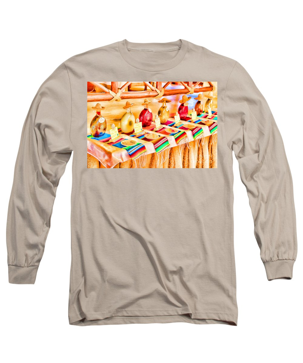 Tequila Long Sleeve T-Shirt featuring the photograph Mucho Tequila by Teresa Zieba