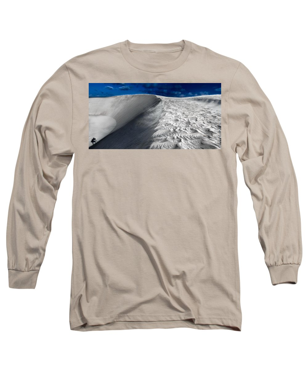 Desert Long Sleeve T-Shirt featuring the photograph On The Horizon by Julian Cook