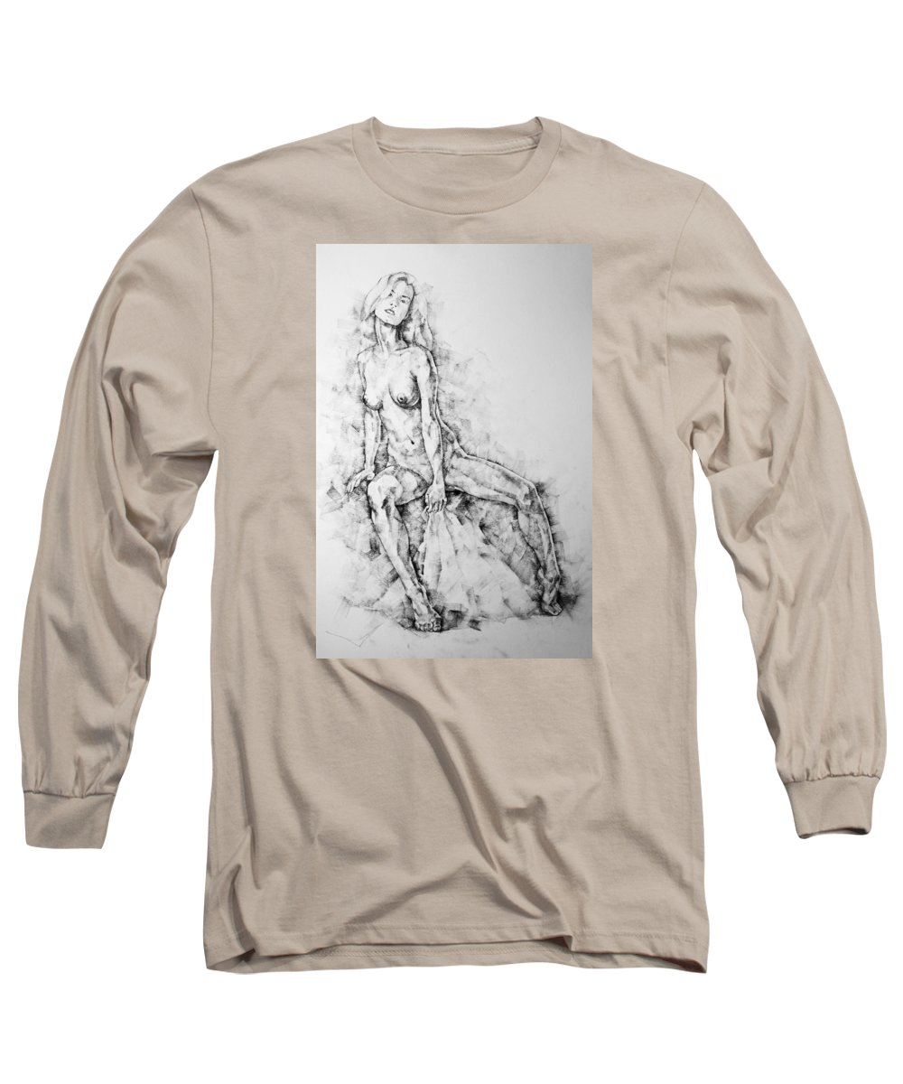 Erotic Long Sleeve T-Shirt featuring the photograph Page 28 by Dimitar Hristov