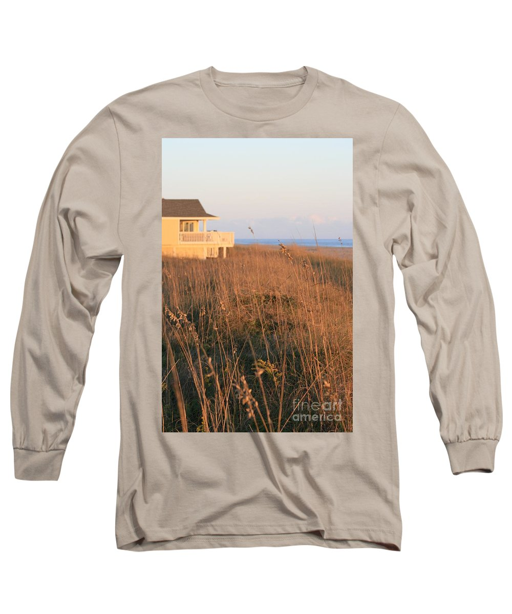 Relaxation Long Sleeve T-Shirt featuring the photograph Relaxation by Nadine Rippelmeyer