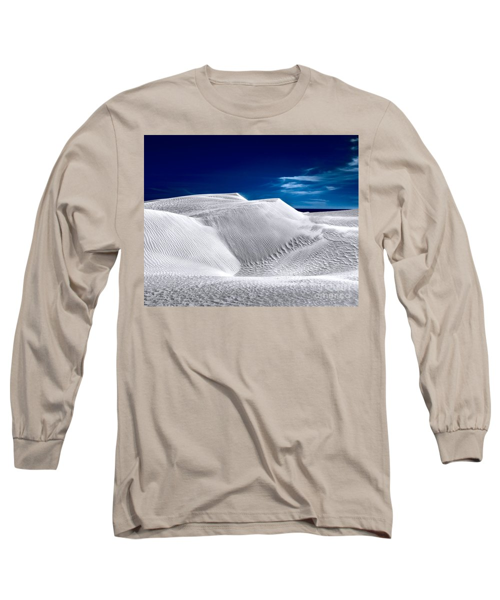 Sea Long Sleeve T-Shirt featuring the photograph Sea On The Horizon by Julian Cook