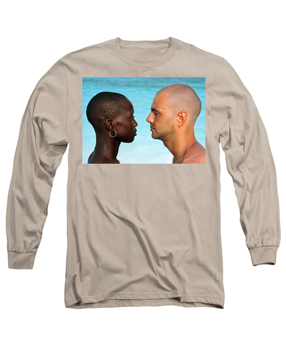 Man Long Sleeve T-Shirt featuring the photograph Yin Yang by Skip Hunt