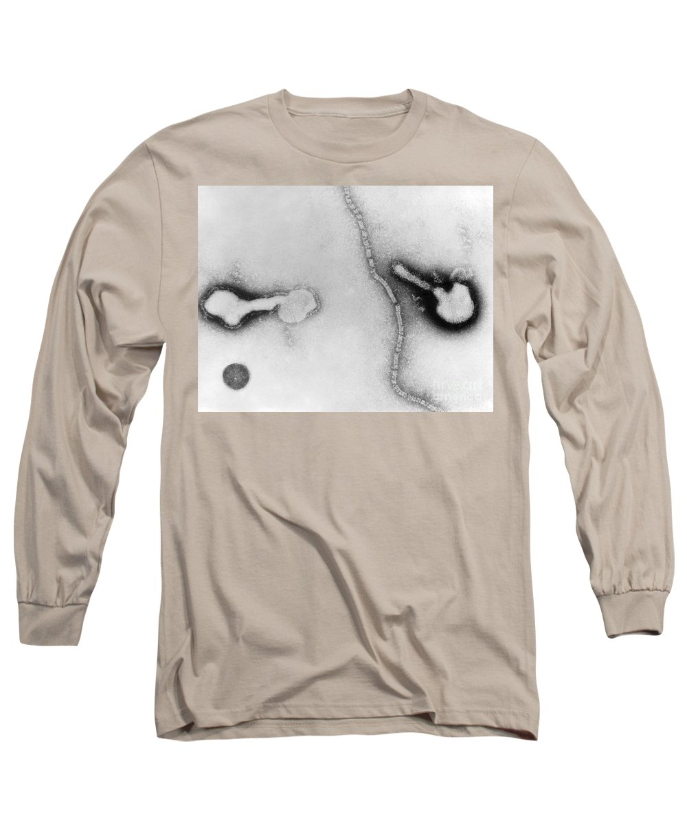 All Use Long Sleeve T-Shirt featuring the photograph Parainfluenza Virus by Science Source