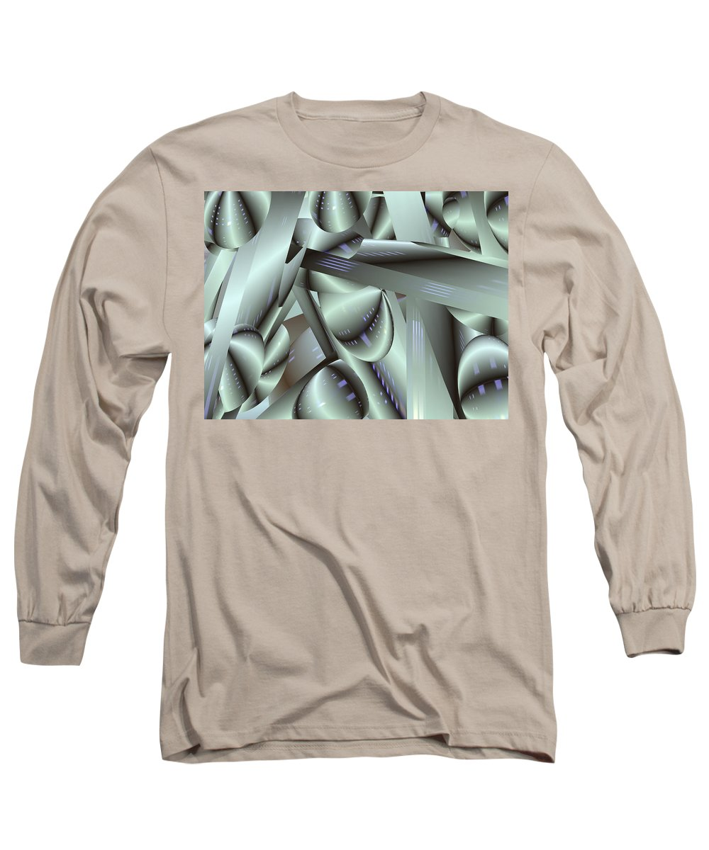 Japan-a-mation Long Sleeve T-Shirt featuring the painting Awe Kew Nice by Scott Piers