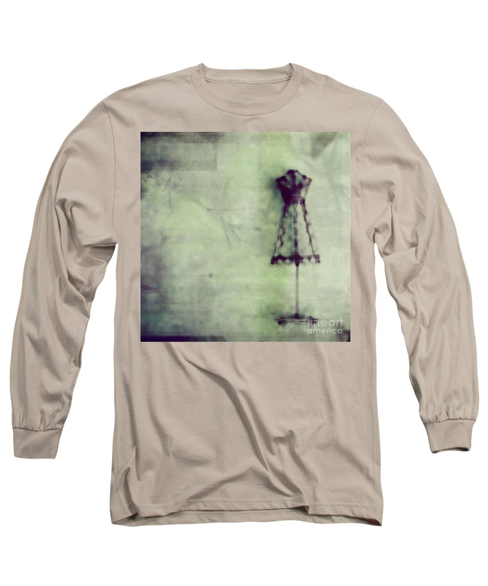 Blue Long Sleeve T-Shirt featuring the photograph Dress Me Up In What You Want Me To Be by Dana DiPasquale