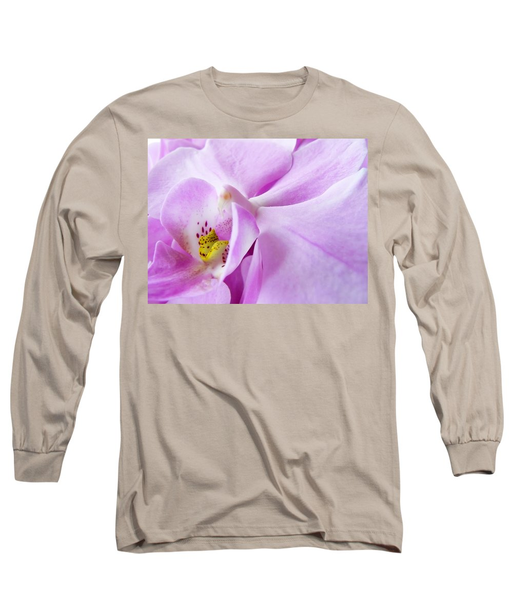 Orchid Long Sleeve T-Shirt featuring the photograph Orchid by Daniel Csoka