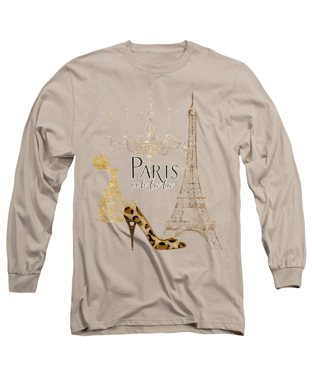 Eiffel Tower Long Sleeve T-Shirts