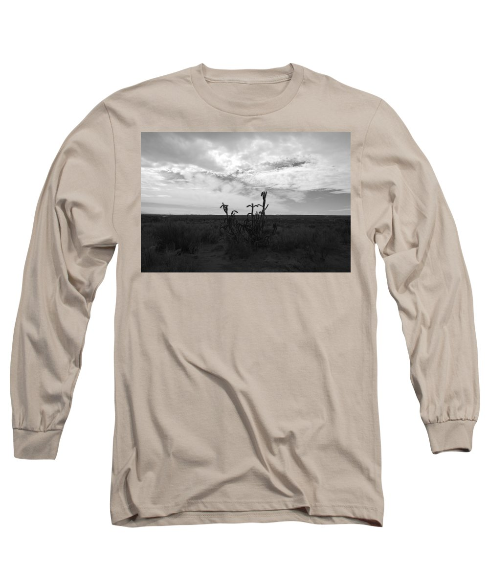 Black And White Long Sleeve T-Shirt featuring the photograph Rio Rancho by Rob Hans