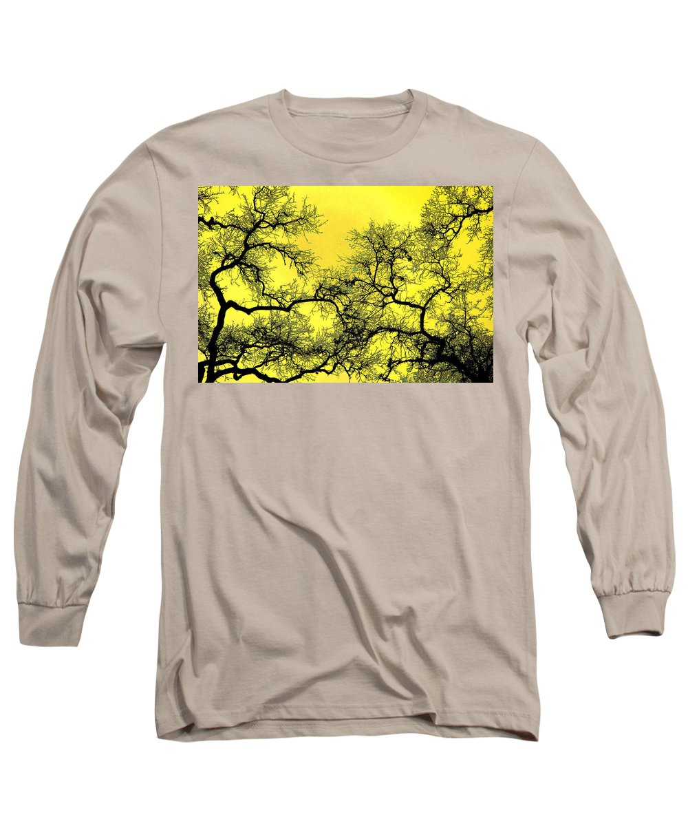 Digital Art Long Sleeve T-Shirt featuring the photograph Tree Fantasy 18 by Lee Santa