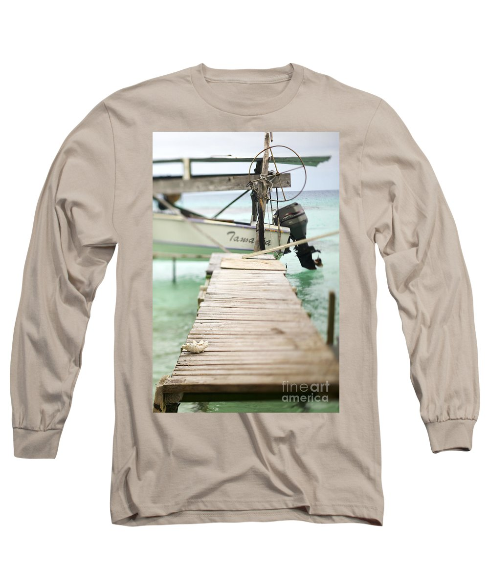 Afternoon Long Sleeve T-Shirt featuring the photograph Tuamotu Isles by Kyle Rothenborg - Printscapes