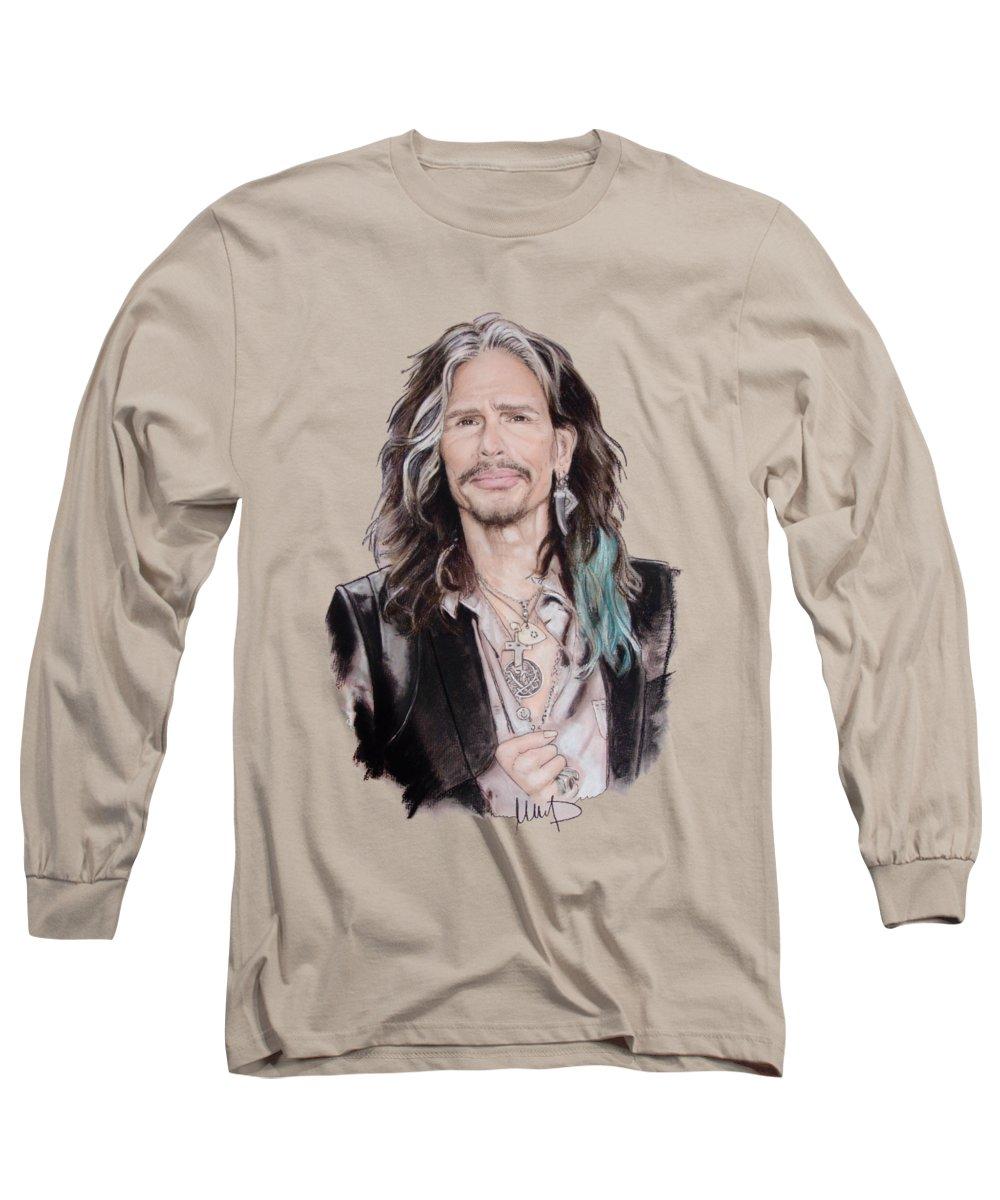Steven Tyler Long Sleeve T-Shirts