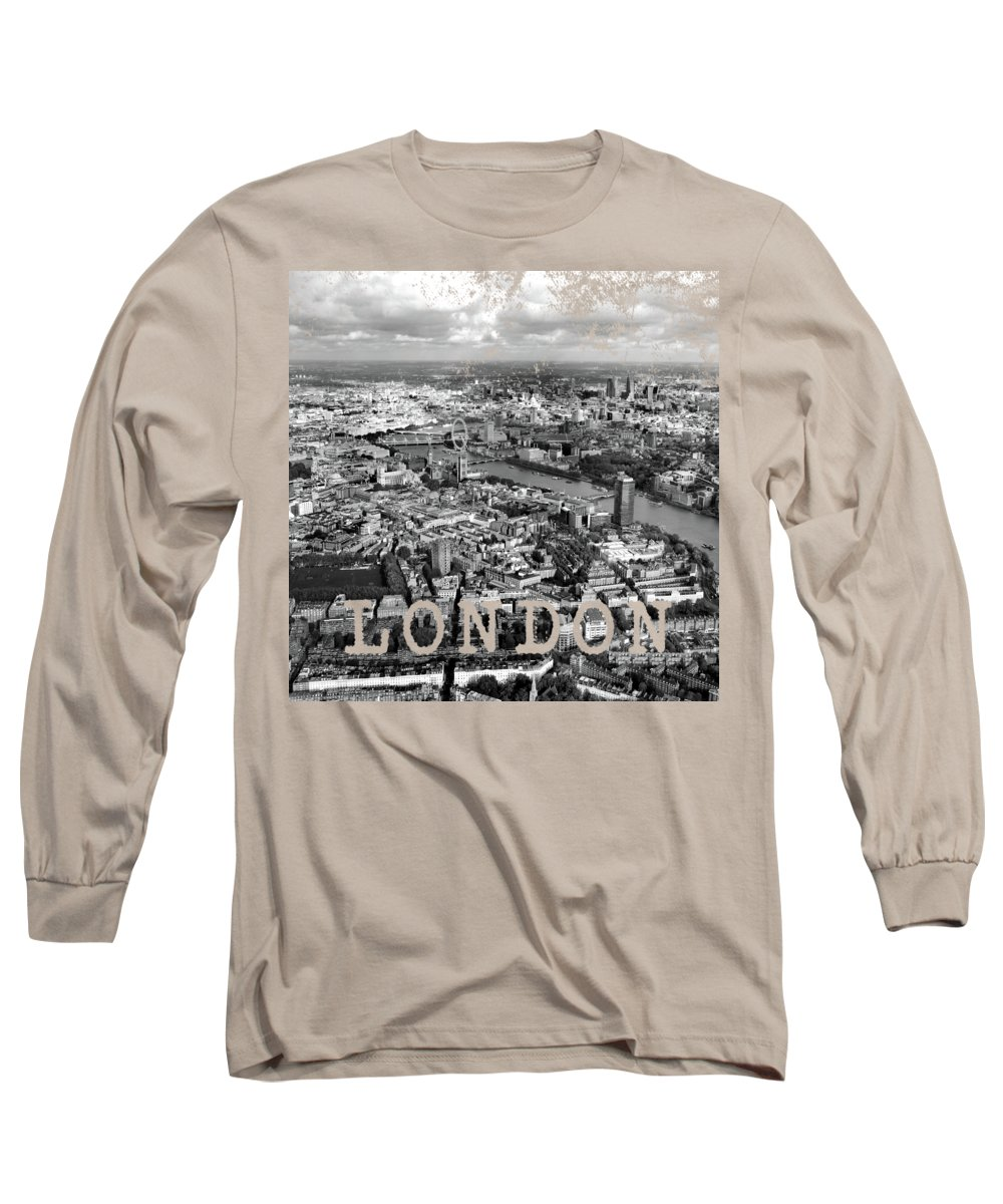 Black And White Long Sleeve T-Shirts