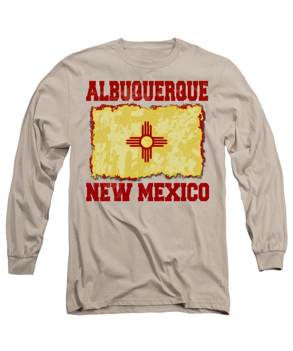 Southwest Digital Art Long Sleeve T-Shirts