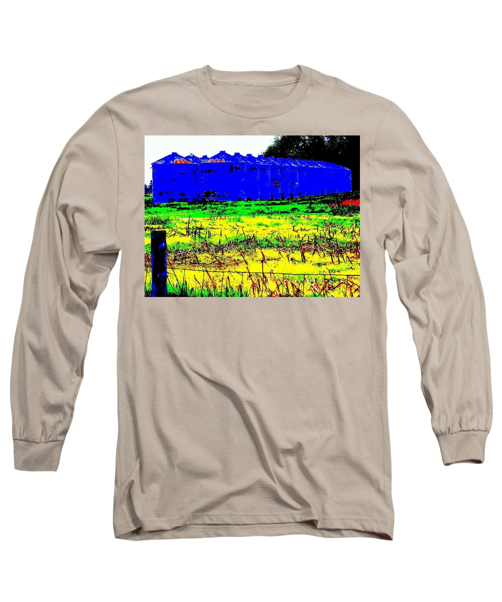 Landscape Long Sleeve T-Shirt featuring the photograph Andys Farm by Ed Smith
