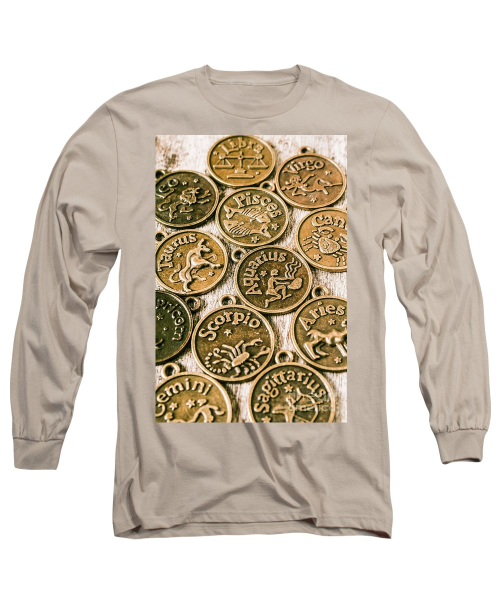 Star Signs Long Sleeve T-Shirt featuring the photograph Astrology Charms by Jorgo Photography - Wall Art Gallery