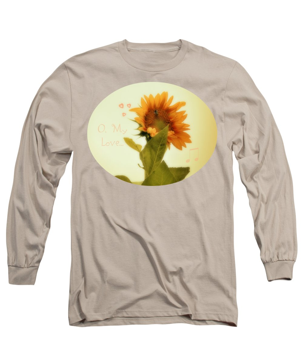 Bee Mine Long Sleeve T-Shirt featuring the photograph Bee Mine by Anita Faye