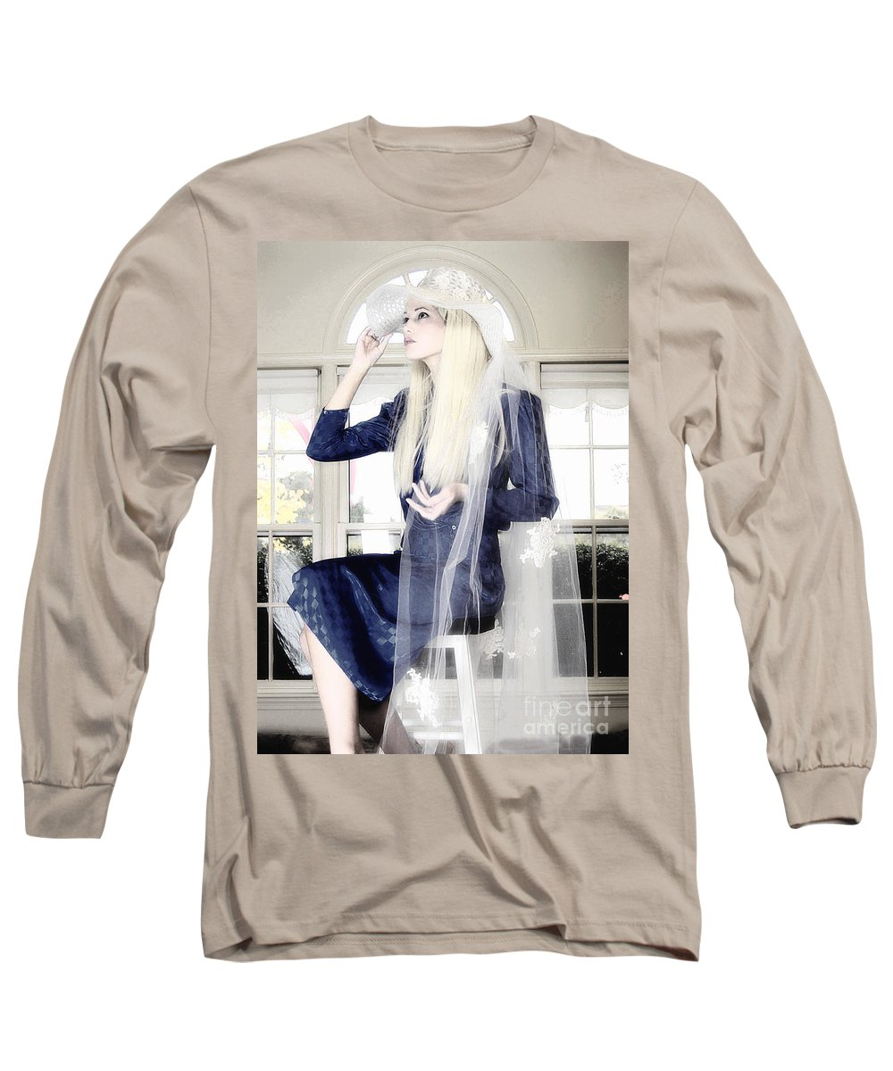 Clay Long Sleeve T-Shirt featuring the photograph Blanco Beauty by Clayton Bruster