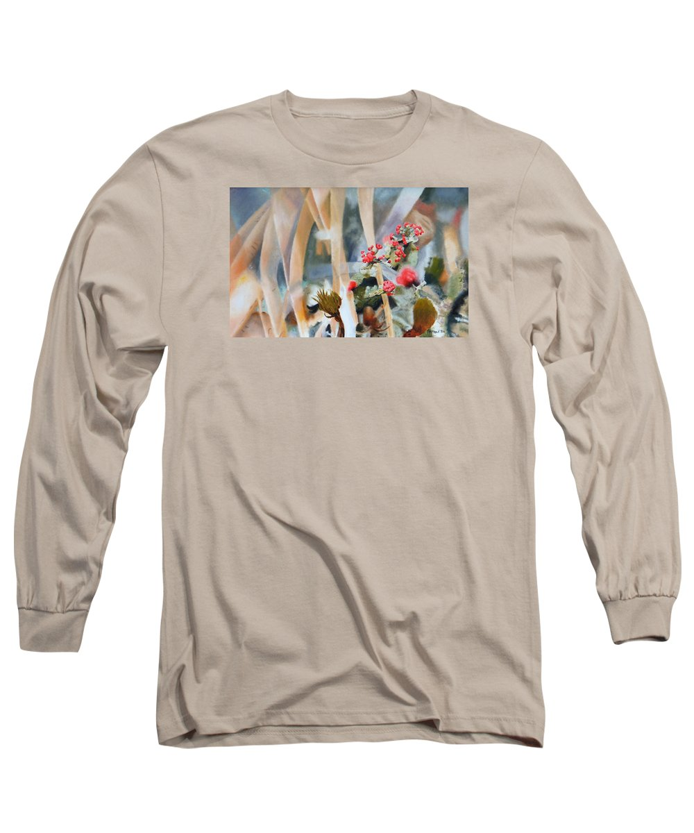 Nature Long Sleeve T-Shirt featuring the painting British Soldiers by Dave Martsolf