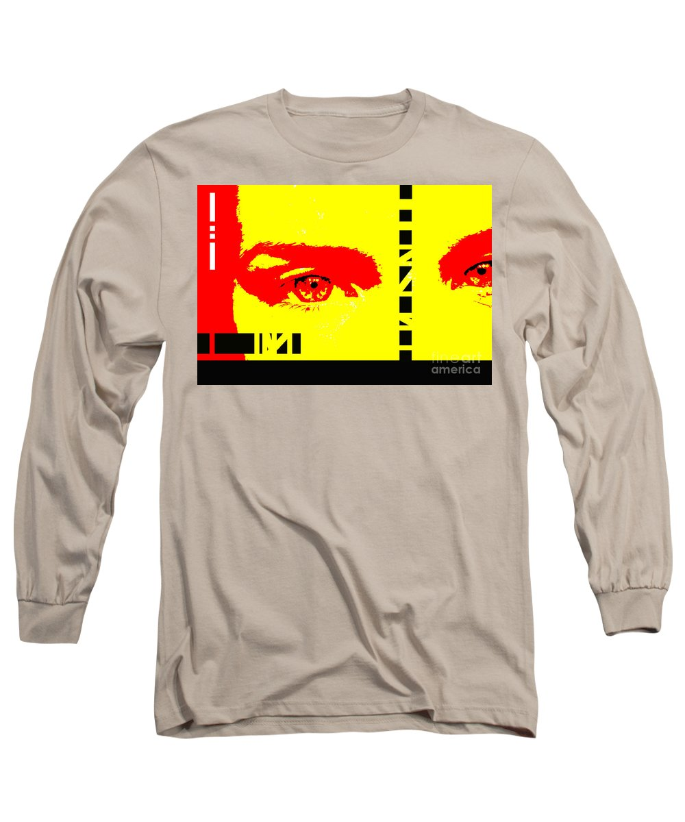 Eyes Long Sleeve T-Shirt featuring the photograph Broken by Amanda Barcon